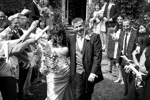 ockindon manor wedding cuckfield confetti