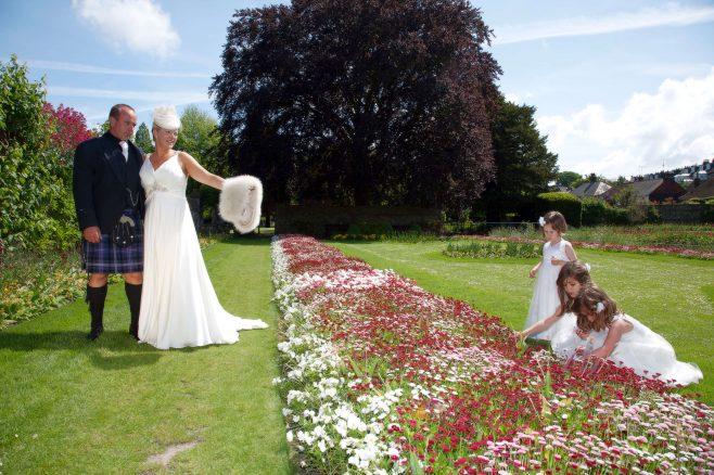 Lewes Southover Grange Gardens wedding