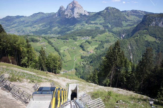 Funicular railway Stoos