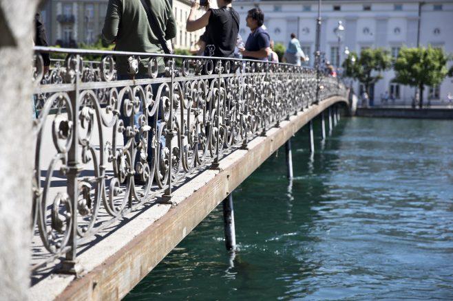 Lake Lucerne bridge
