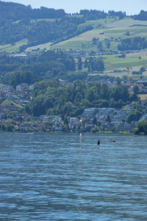 Lake Zurich paddle board