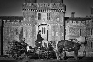 Castle wedding at Herstmonceux